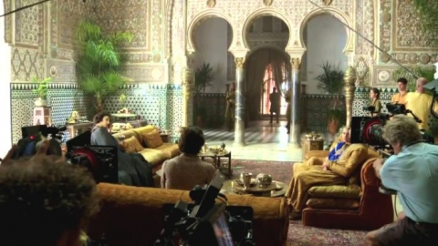 The Alcazar palace in Seville, used as a filmlocation by the series Games of Thrones