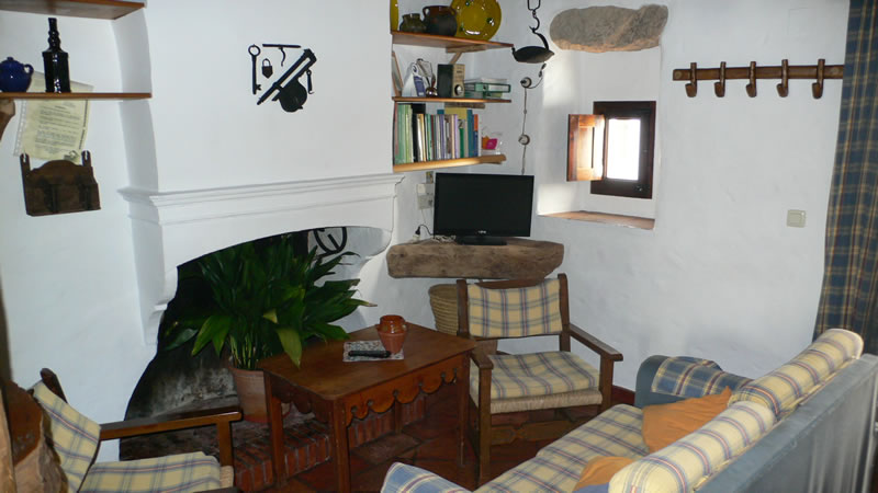 el municipal holiday rental villaluenga del rosario grazalema livingroom