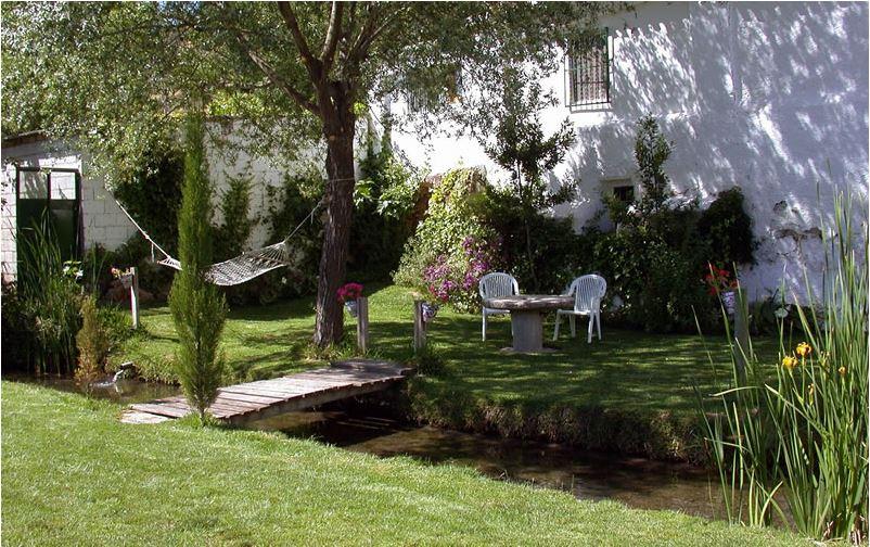 moulin los molinos padul granada andalousie jardin