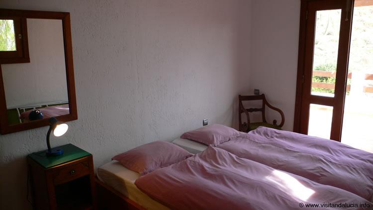 almeria las negras ferienhaus casa la palmera schlafzimmer