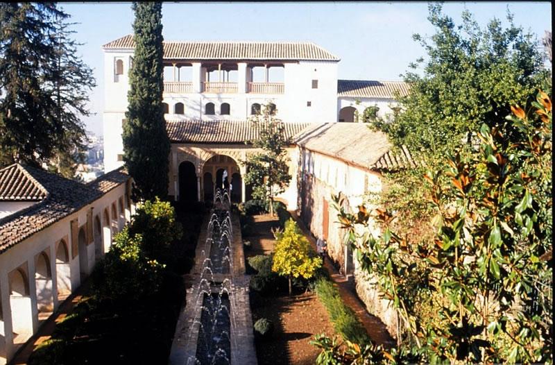 granada alhambra generalife garten andalusien spanien