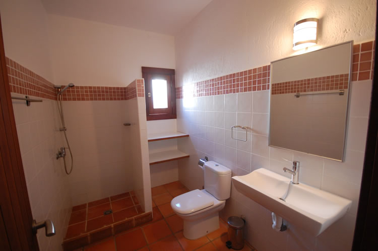 almeria las negras holiday rental casa la palmera bathroom