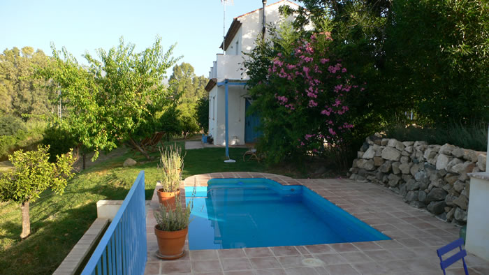 sierra de las nieves holiday rental la cabra verde private pool the blue house