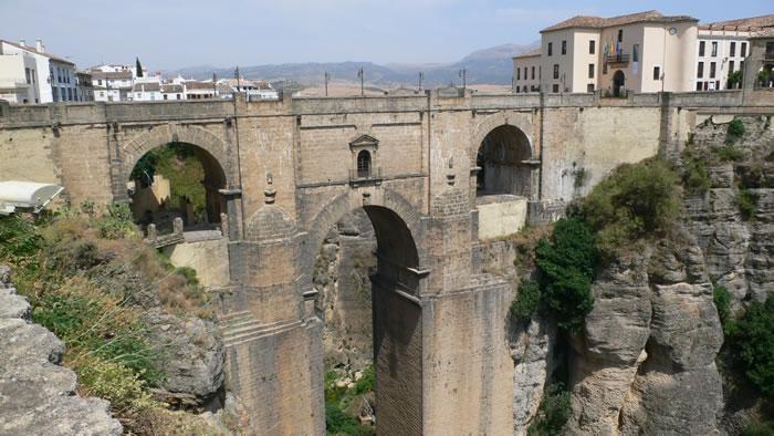 ronda pont malaga andalousie