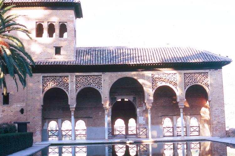 grenade alhambra palais le partal andalousie espagne