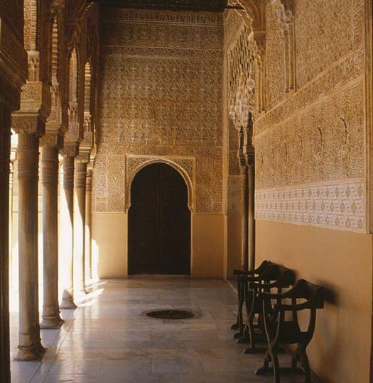 granada alhambra hall van de ambassadeurs andalusie spanje