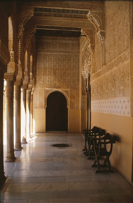 granada alhambra embassadors hall andalusia spain