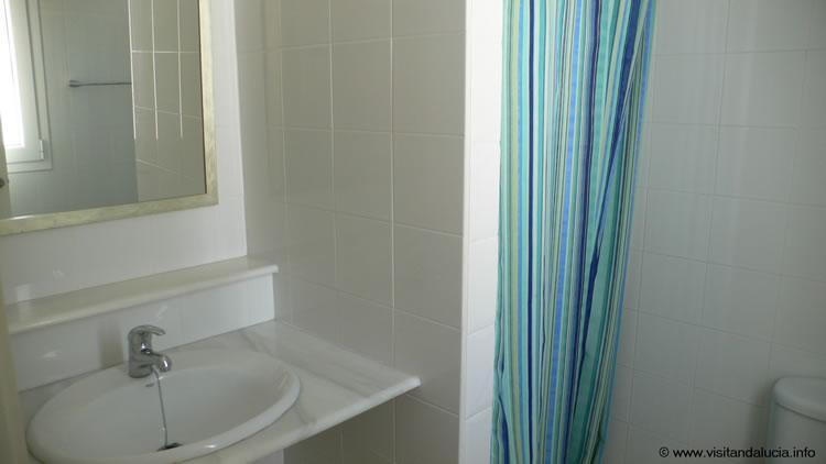almeria las negras villa de vacances casa la cascada salle de bains