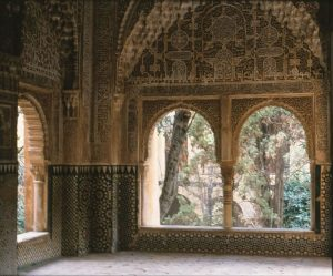 granada alhambra room of the two sisters andalusia spain
