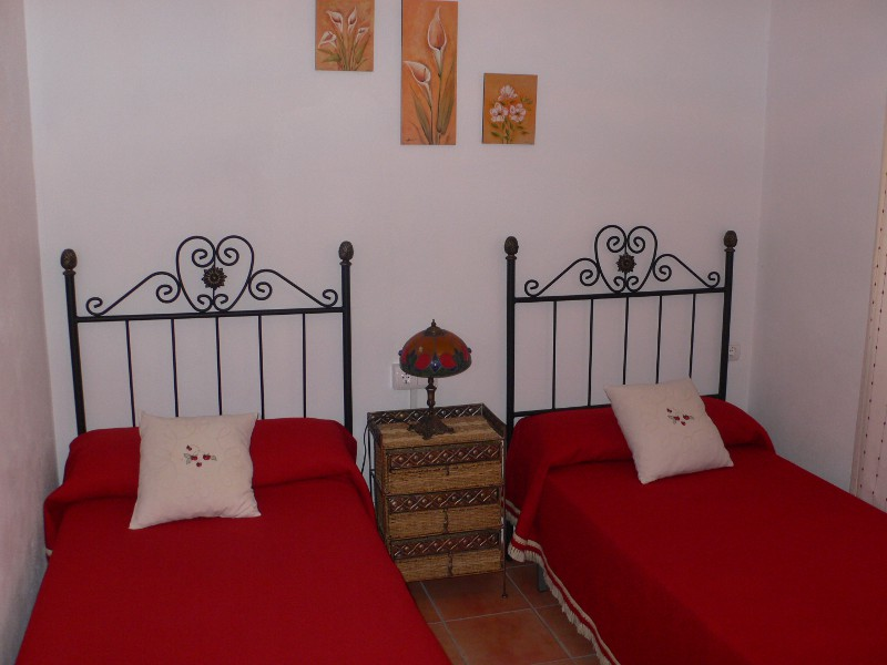 malaga el torcal holiday house casa aguila bedroom