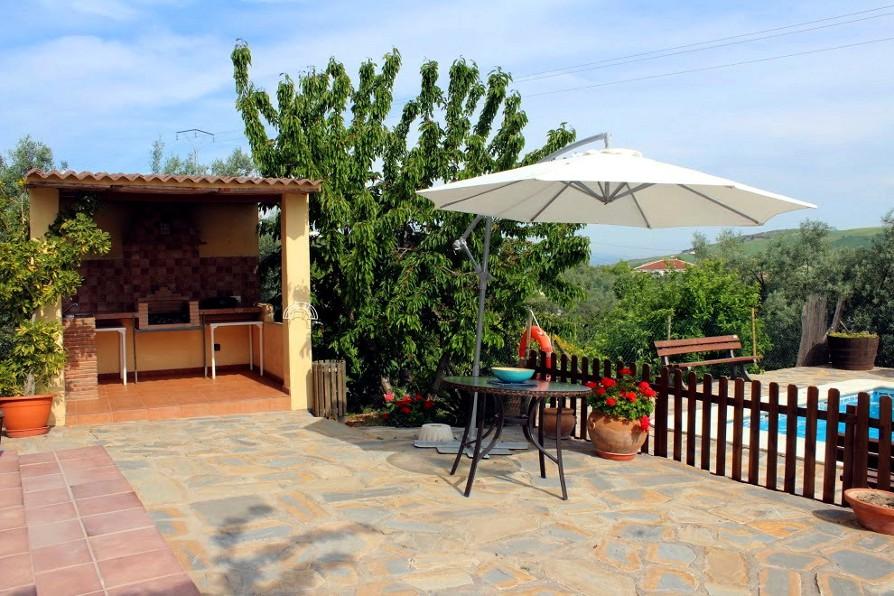 terrace holiday rental casa amarilla el torcal de antequera malaga