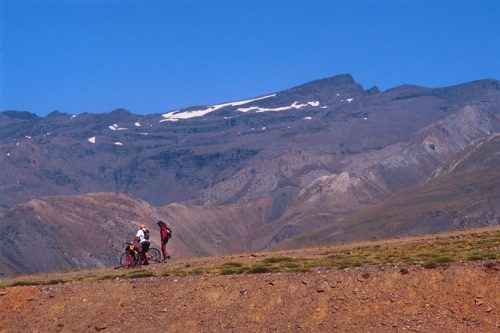 sierra nevada veleta mountain cyclists what to do alpujarras