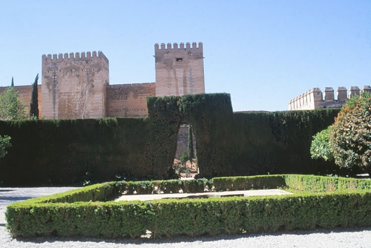 almeria alcazaba fort was machen in andalusien spanien