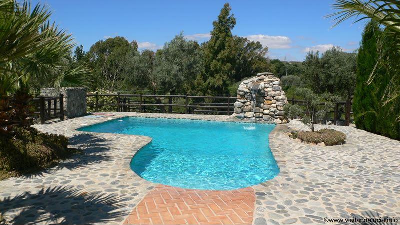 orgiva alpujarras ferien villa finca rio seco mit privatem pool