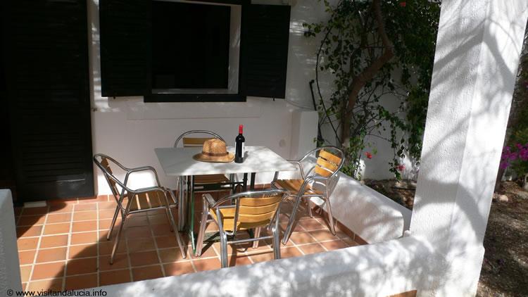 almeria las negras vakantiehuis casa torrecilla terras voor het huis 3