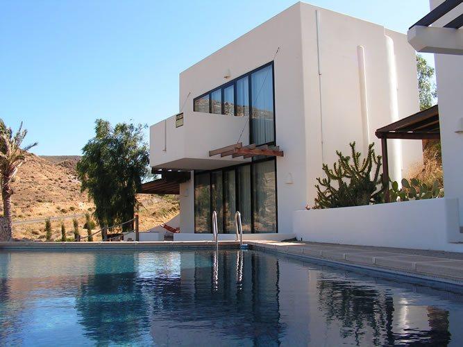 almeria las negras vakantievilla casa cascada gevel en zwembad