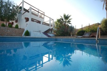 almeria las negras holiday rental casa la palmera pool and house