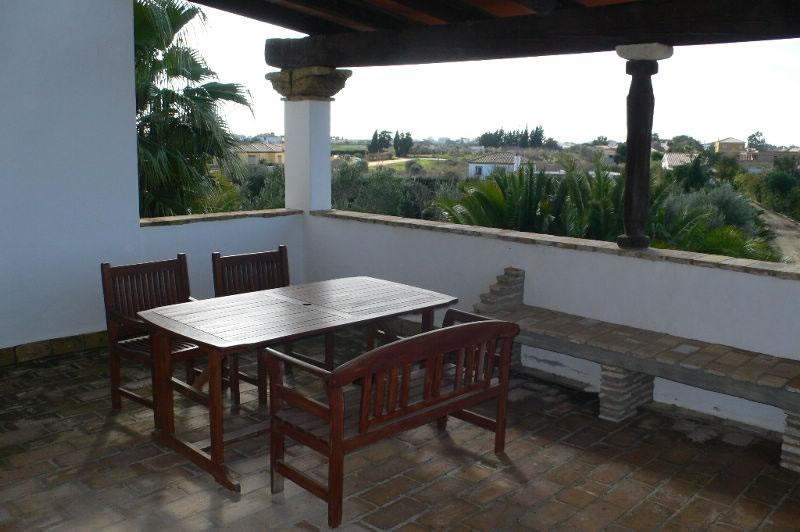 conil de la frontera maisons de vacances finca el olivar terrasse appartement 4 personnes