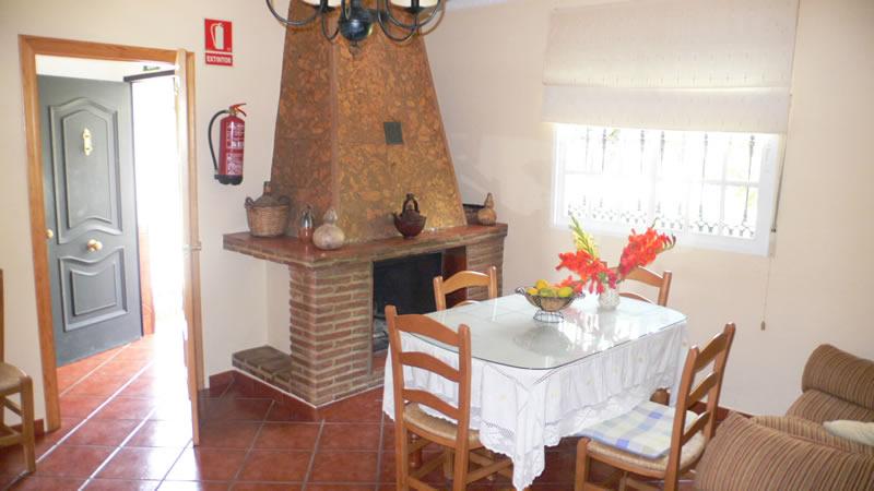 malaga casa de la torre ferienhaus wohnzimmer
