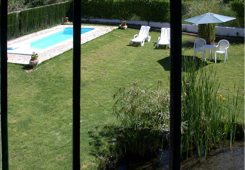 vacation rental los molinos granada andalusia pool and garden
