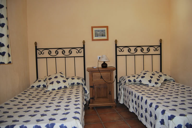 cordoba castil de campos holiday rental house bedroom