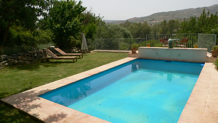 sierra de las nieves holiday rental la cabra verde house private pool seagreen