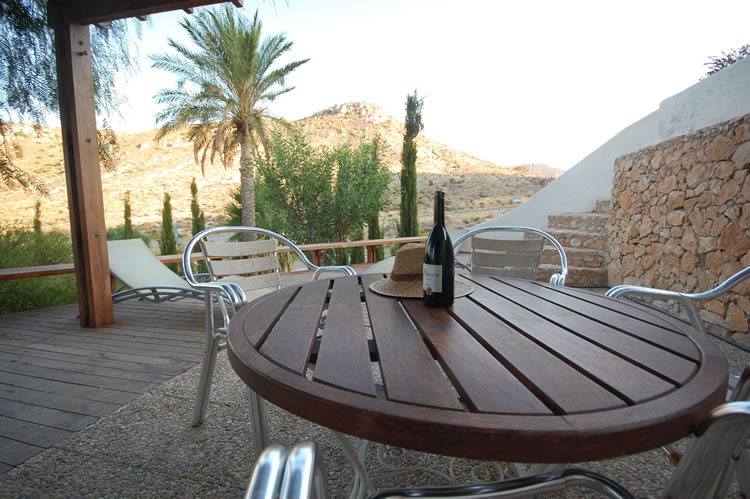 almeria las negras holiday rental villa casa la cascada terrace and outside furniture