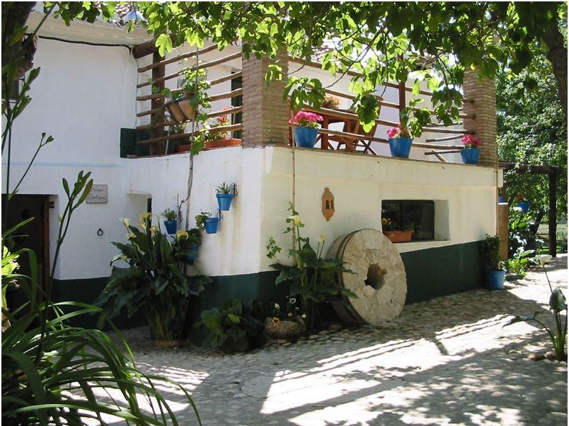 wassermühle los molinos padul granada andalusien garten und terrasse 3