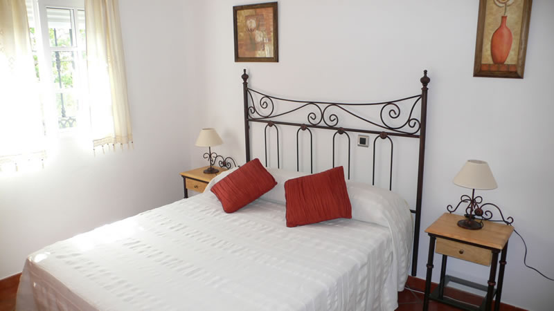 malaga casa de la torre holiday rental house bedroom