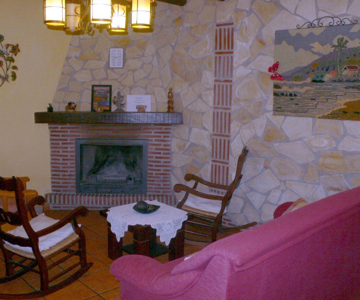 ferienhaus bungalow cortijo limon orgiva alpujarras wohnzimmer