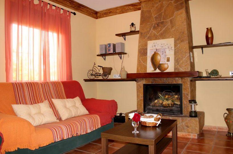 livingroom holiday rental casa amarilla el torcal de antequera malaga