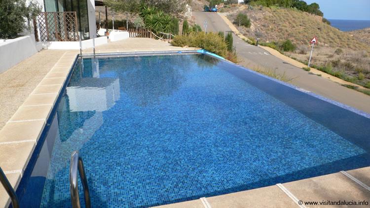 almeria las negras villa de vacances casa la cascada piscine