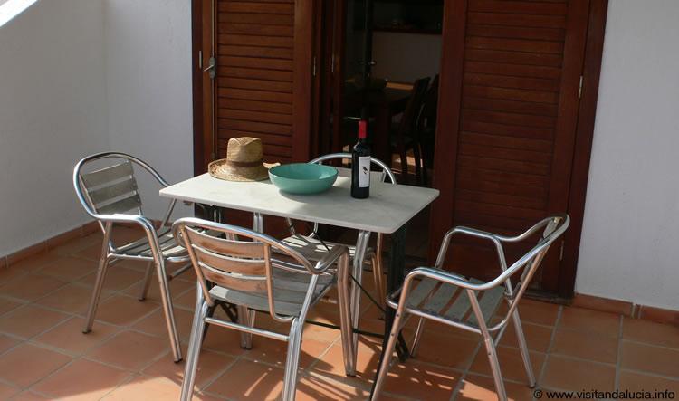 almeria las negras holiday rental casa la palmera terrace 2