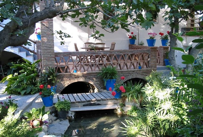 vacation rental los molinos granada andalusia garden and terrace