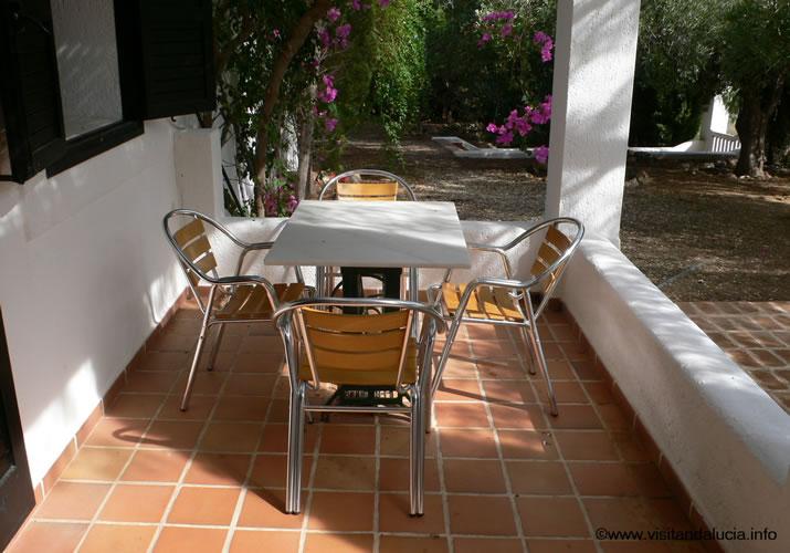 almeria las negras vakantiehuis casa torrecilla terras voor het huis