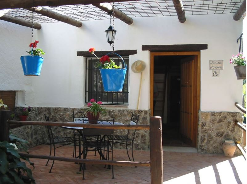 vacation rental los molinos granada andalusia front house Misqueres