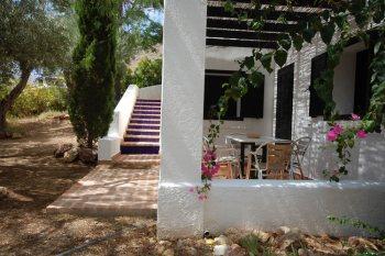 almeria las negras ferienhaus casa torrecilla terrasse und garten