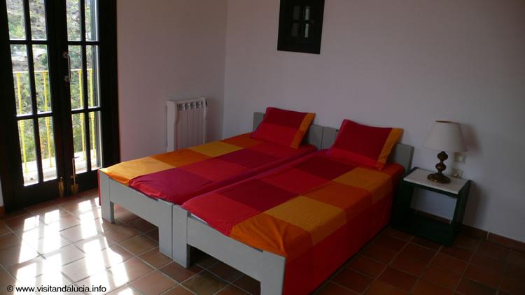 almeria cabo de gata las negras vakantiehuis casa los olivos slaapkamer