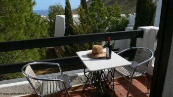 almeria studio vakantieappartament las negras terras en tuin