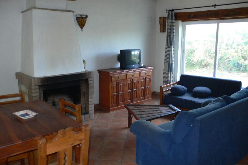 conil de la frontera holiday rentals finca el olivar livingroom with fireplace