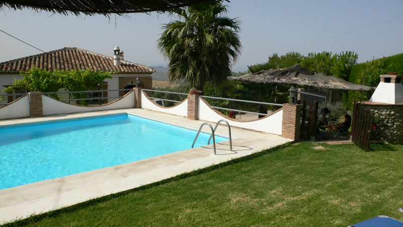 malaga casa de la torre holiday rental house private pool