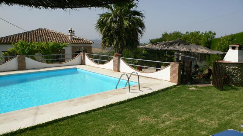 malaga casa de la torre ferienhaus privatem pool