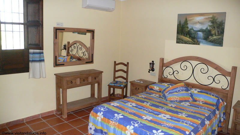 orgiva alpujarras holiday rental villa finca rio seco master bedroom