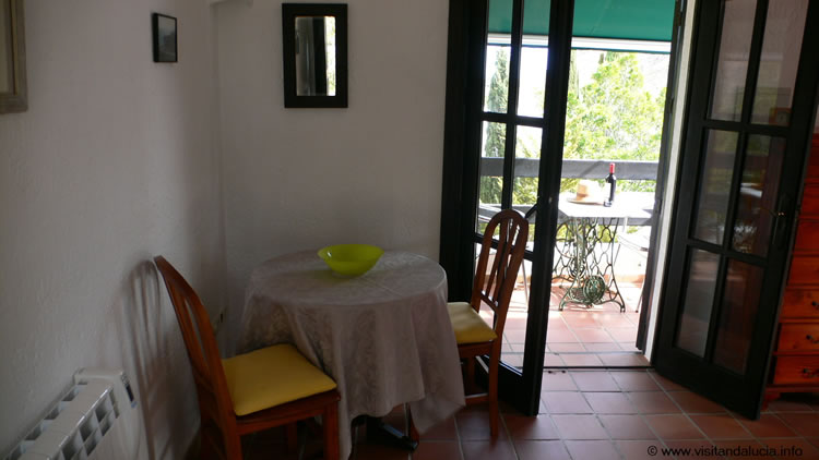 almeria holiday studio apartment las negras livingroom