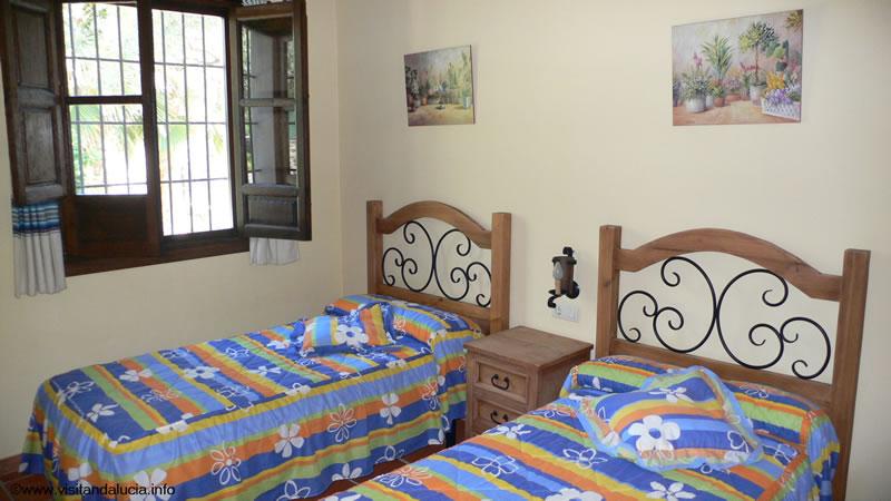 orgiva alpujarras villa de vacances finca rio seco chambre 2