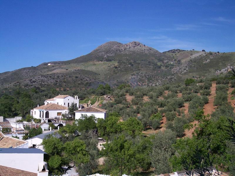 cordoba zagrilla alta dorf und landschaft andalusien
