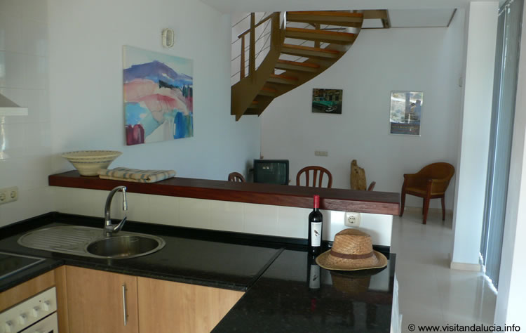 almeria las negras holiday rental villa casa la cascada kitchen