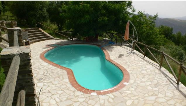 la alpujarra cortijo capilerilla bungalow piscine privée