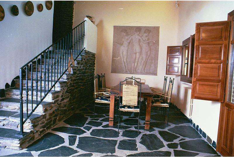 Alpujarras, Bubion ferienvilla Casa Milagro essbereich