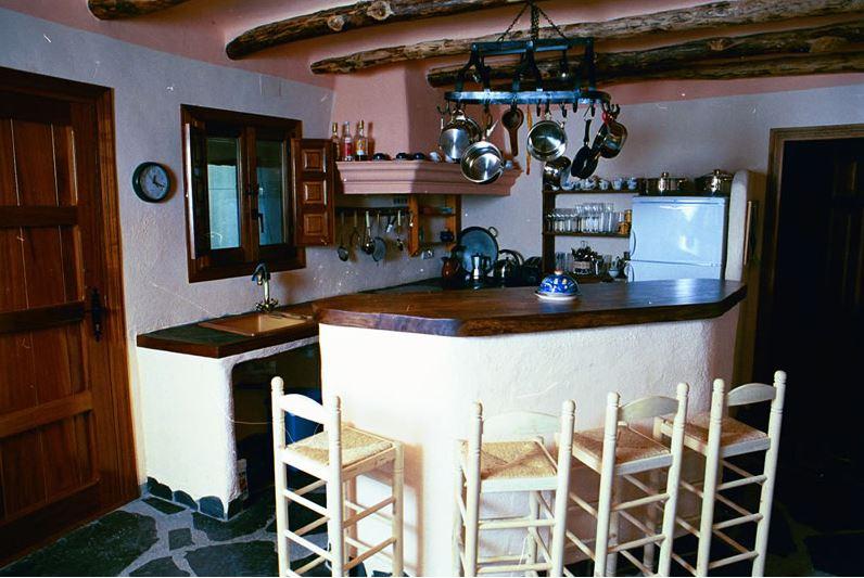 Alpujarras, Bubion ferienvilla Casa Milagro Küche